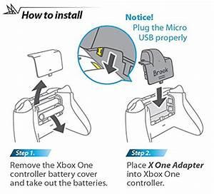 Xbox Wireles Controller Diagram