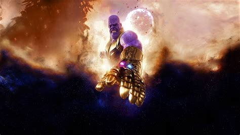 Thanos In Avengers Infinity War 4k Wallpapers Hd