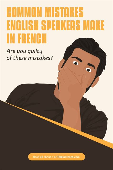 Common Mistakes Made by English Speakers in French   How ...
