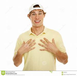 Young Man Happy Surprise Royalty Free Stock Image - Image ...