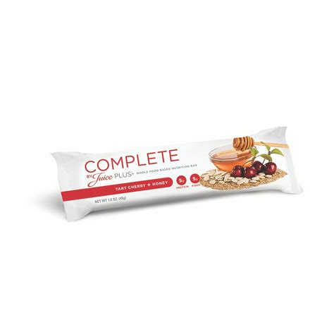 Complete Bar by Buy Complete By Juice Plus Cherry Nutrition Bars