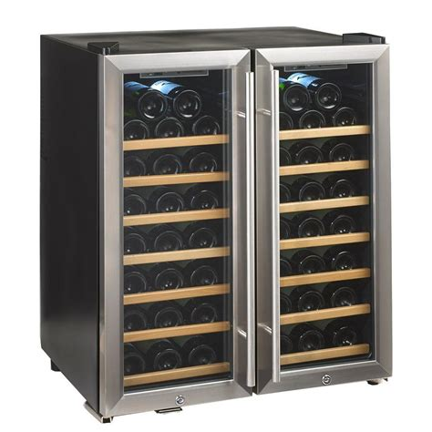 Wine Enthusiast Silent 48bottle Dual Zone Wine Cooler