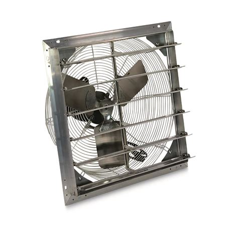 exhaust fan with shutter hessaire 20 quot shutter exhaust fan 681335 air
