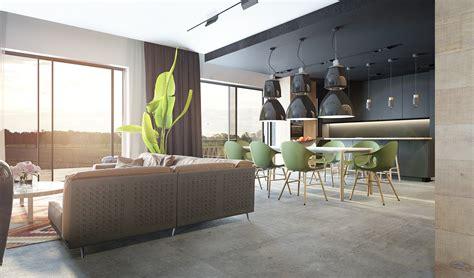 faux plafond cuisine ouverte comment incorporer des couleurs sombres dans votre intérieur