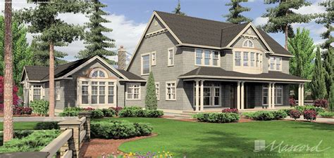 Craftsman House Plan 2443 The Seligman: 4790 Sqft 4 Beds