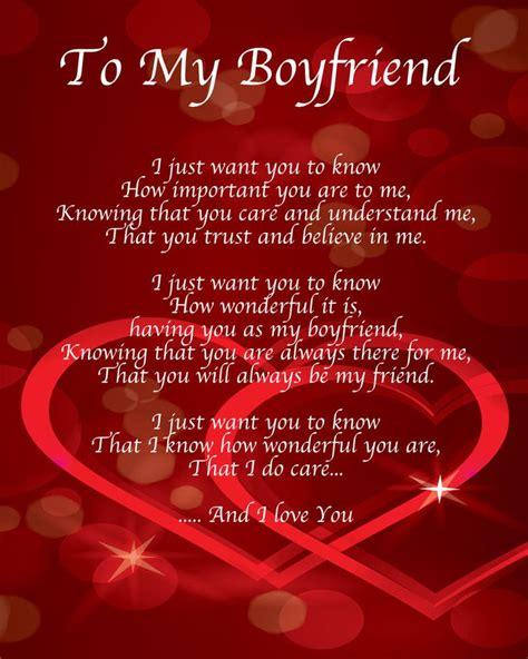 Birthday Love Poems for My Boyfriend