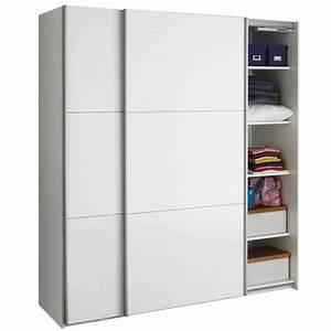 Armoire Dressing Blanche : alinea armoire great alina slidy armoire portes with ~ Premium-room.com Idées de Décoration