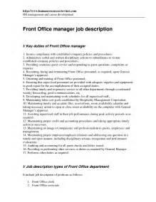 front office manager description resume best photos of office manager description office manager description front