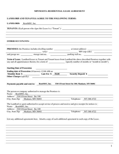 tenent lease agreement gtld world congress