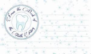Printable Authentic Tooth Fairy Letterhead