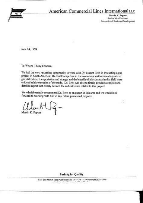 exles of great letters of recommendation best
