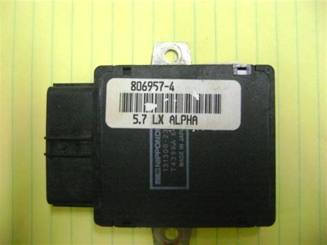 find mercruiser ignition control module  lx alpha icm