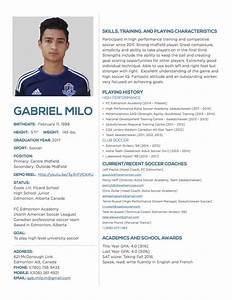 Captainu profile for Sports profile template