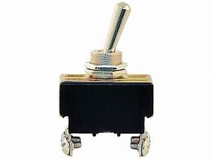 Double Pole Single Throw Toggle Switch