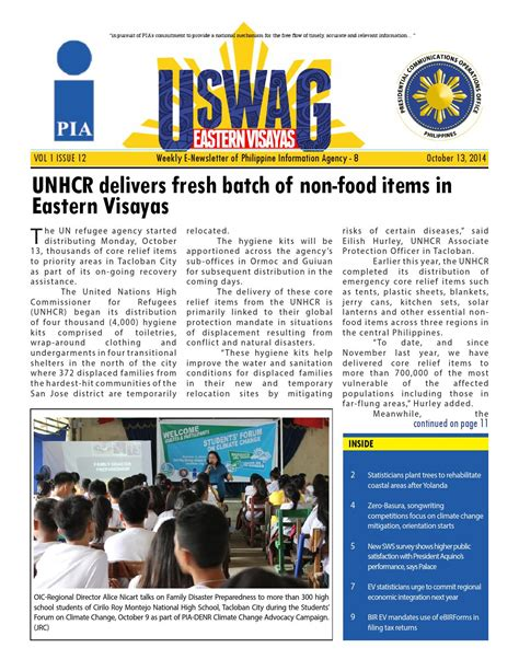 cuisine non agenc馥 uswag ev october 13 issue by uswag eastern visayas issuu