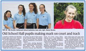 sports achievements make the papers hethersett school hohs an independent