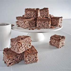 Cocoa Pop Krispies With Chocolate Nutella Icing
