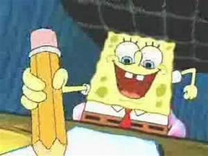 Spongebob - Deathnote - YouTube  Spongebob