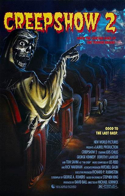 Creepshow Movie Poster Posters Horror Animated 1987