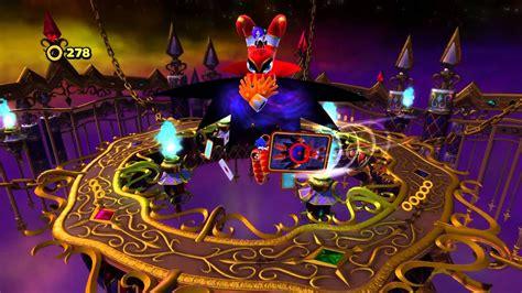 sonic lost nightmare zone deadly six bonus wii