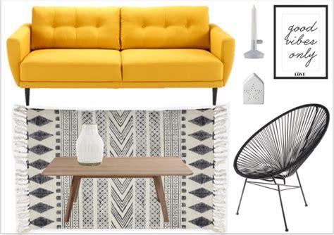 deco avec canapé gris variations autour d 39 un canapé jaune joli place