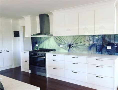 kitchen backsplash ideas custom printed glass kitchen splashbacks for your kitchen