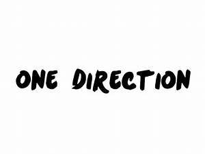 One Direction Text PNG by SydneeyMazz on DeviantArt