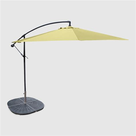 10 canary cantilever umbrella and weight base world market