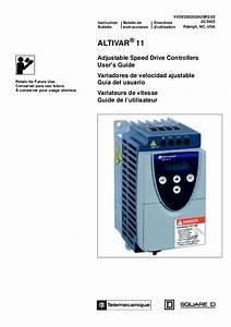 Ac Drive Altivar 11 User Manual