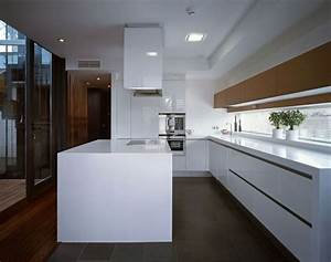Awesome home designs ergonomic modern kitchen in spanish for Modern house interior design kitchen