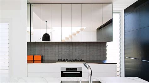 mirrored glass kitchen cabinets on reflection mirror ideas for every room in the home