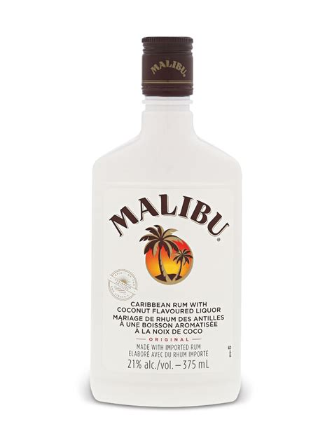 But its sweetness lessens the need to add simple syrup to cocktails. Malibu Caribbean Rum with Coconut Liqueur 375 ML