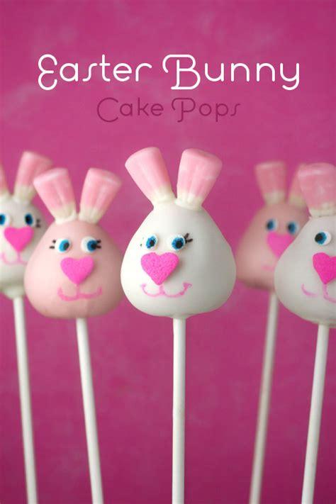 easter cake pops kari s cooking easter bunny cake pops