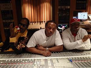 Dr. Dre, Snoop Dogg & The Game In The Studio (Pic ...