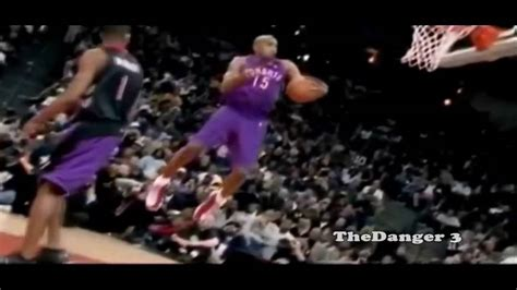 vince carter nba slam dunk contest  youtube