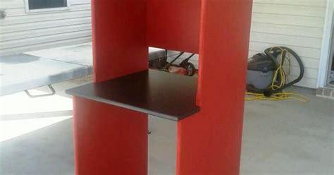 microwave coffee mini fridge stand   office