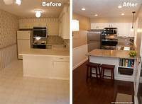 kitchen remodel before and after Beautiful Kitchen Remodel On A Budget - Before and After Pictures   RemoveandReplace.com