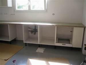 Meuble Bas Cuisine Avec Plan De Travail : meuble de cuisine bas avec plan de travail 12 id es de ~ Dailycaller-alerts.com Idées de Décoration
