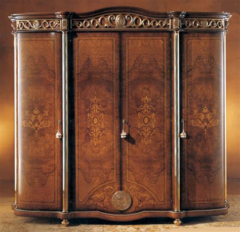 wardrobe closet armoire honey walnut 4 door armoire ebay
