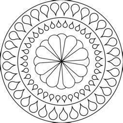 mandalas für kinder zum ausdrucken mandala blume mandala zum ausmalen basteln allerlei mandala ausmalen ausmalen und