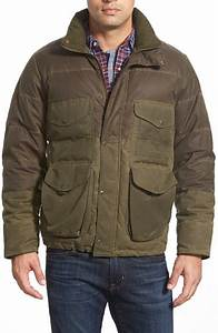 Lyst - Filson 'cruiser' Coated Down Jacket in Green for Men