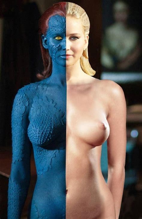 Jennifer Lawrence S X Men Naked Body Exposed