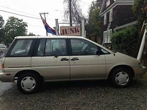 Why The Nissan Axxess Is The Most Difficult Minivan To Understand Ever