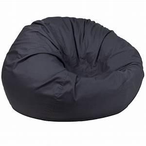 Gray, Bean, Bag, Chair, Dg