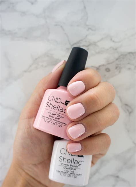 shellac nails colors ultimate step by step guide to home manicures with cnd