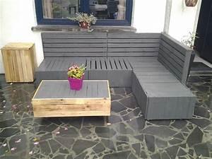 Salon De Jardin Palettes : tuto salon jardin palette avec meuble jardin palette bois ~ Farleysfitness.com Idées de Décoration