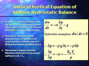 What Are The Fundamental Equations Used In Weather