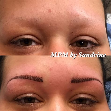 Maquillage Permanent Des Sourcils  Institut De Beauté