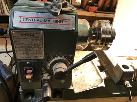 review central machinery harbor freight lathe review