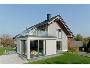 Anbau Haus Fertigbau : fassadengestaltung einfamilienhaus modern satteldach haus deko ideen ~ Sanjose-hotels-ca.com Haus und Dekorationen